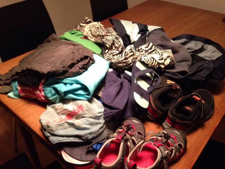 packning-barnklader