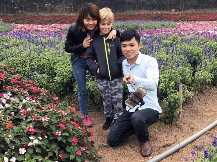 Hanoi-blomsterpark-3-selfie